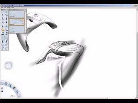 Sketching on a Wacom Pill thumbnail
