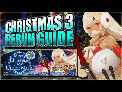 Fgo Christmas 2020 Guide CHRISTMAS 3 RE RUN GUIDE + HOW TO GET SANTA ALTERA! FGO NA   YouTube
