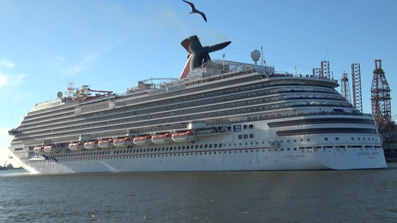 Caribbean Cruise Ships Leaving From The Port Of Galveston YouTube - Galveston cruise lines