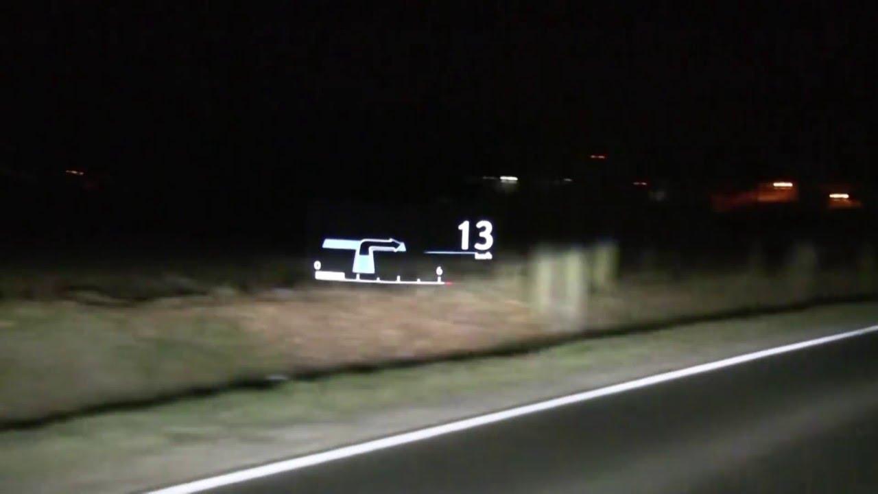 Lexus Nx200t Wyswietlacz Hud Head Up Display 1001cars Youtube