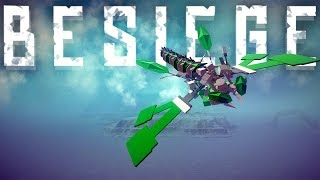 Besiege Best Creations - Perfect Dragonfly Ornithopter, Fastest Besiege Train, Jumping Buggy  & More