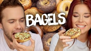 6 mouthwatering bagel creations cheat day