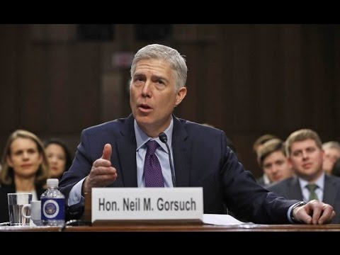 Neil M  Gorsuch sworn in as 113th Supreme Court justice