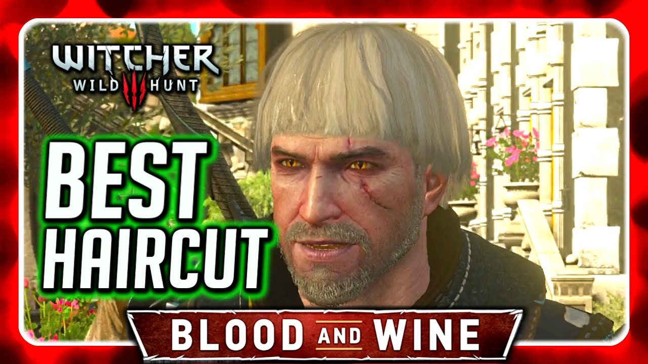Witcher 3 Best Haircut Ever Queen S Pageboy Blood And Wine
