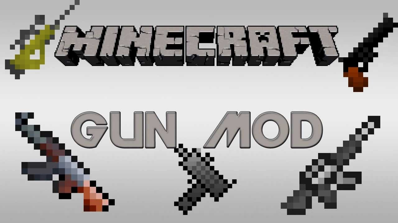 Minecraft PE Gun Mod Tutorial Review Germanhackertime German - Minecraft kostenlos spielen ohne download 3d