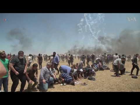 52 killed in Gaza protests as anger mounts over U.S. Embassy in Jerusalem