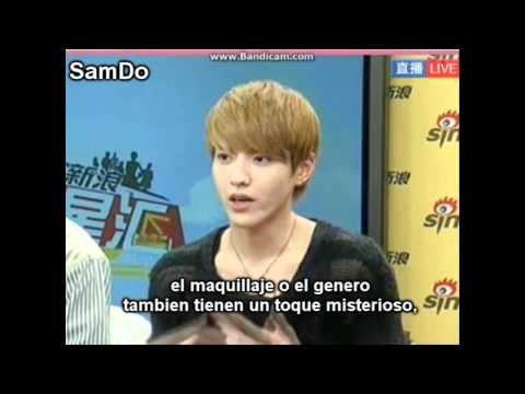 EXO-M @Sina Live Chat [Sub Español] 1/5