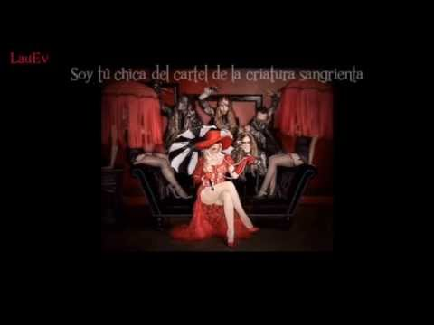 In This Moment Bloody Creature Poster Girl Español