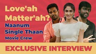 Fun interview with Naanum Single Thaan Director R Gopi and Heroine Deepti Sati | TalkieTown