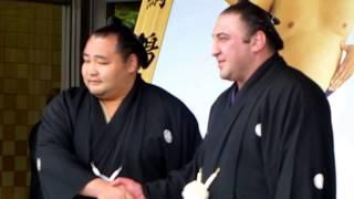平成30年5月12日(土)、栃ノ心と鶴竜の優勝額贈呈式に行ってきました! ...