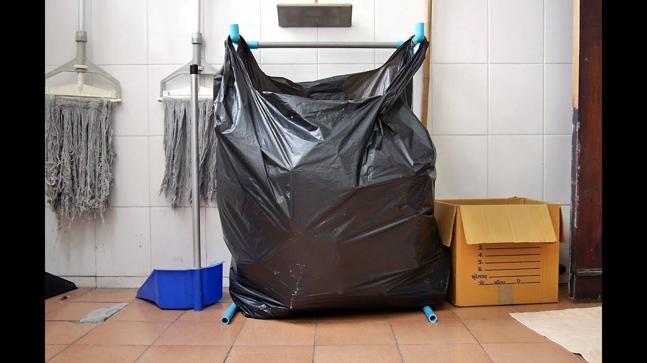 Diy Easy Low Cost Trash Bag Holder