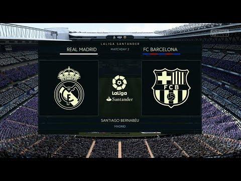 FIFA 18 REAL MADRID VS FC BARCELONA XBOX ONE GAMEPLAY