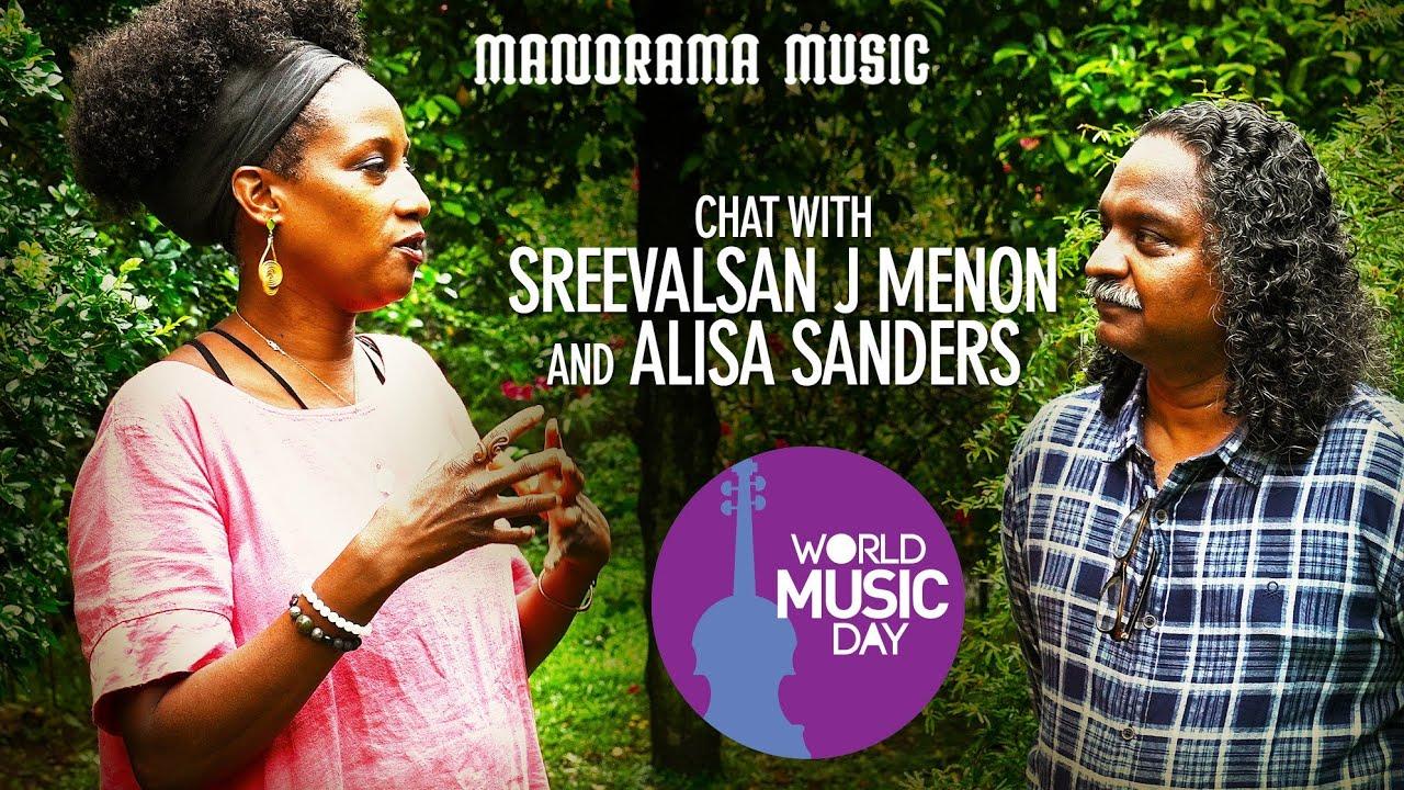 Chat with Sreevalsan J Menon and Alisa Sanders | World Music Day 2021 | Antony John | Ananda Jyothi