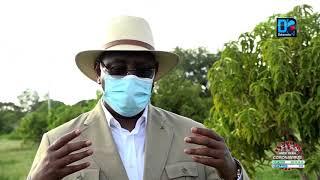 """Visite à Sokone : """" Je vais renforcer les moyens du ministère de l'agriculture pour que les"""
