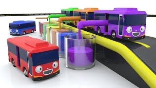 Learn Colors with Tayo Bus Nursery Rhymes Songs ! Learn Colors for Kids - Colors with Tayo Buses