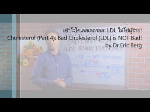 เข้าใจโคเลสเตอรอล: LDL ไม่ใช่ผู้ร้าย!