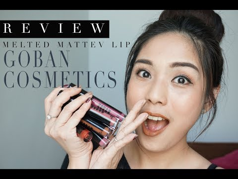 """goban-cosmetics-""""melted-matte-lip-cream""""-