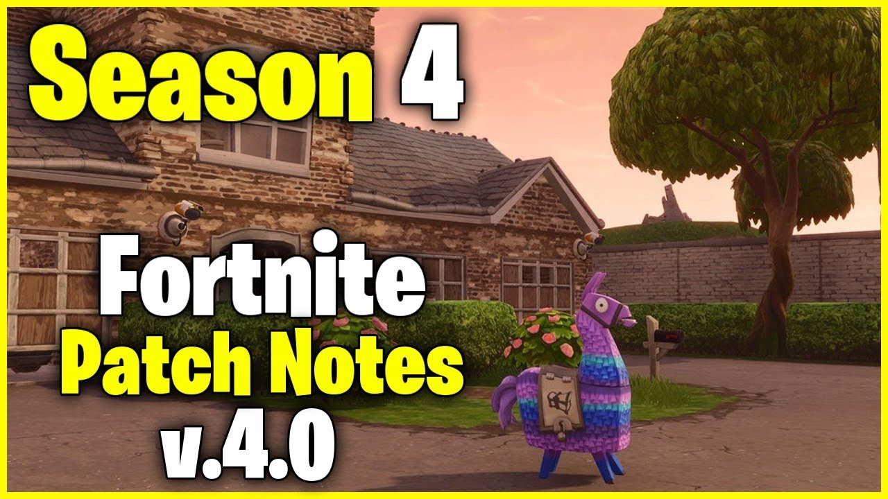 fortnite patch notes - photo #25