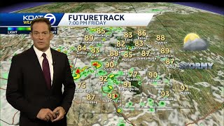 Storms likely today with heavy rain threat and flash flood watch