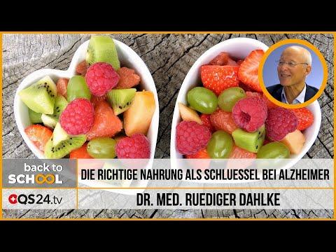 Die richtige Ernährung als Schlüssel bei Alzheimer | Dr. med. Ruediger Dahlke | QS24 25.12.2019