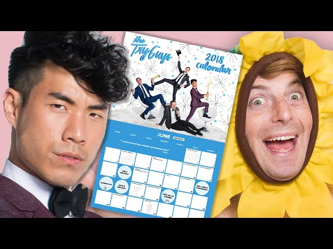 Download Youtube: The Try Guys Make The Ultimate Holiday Calendar