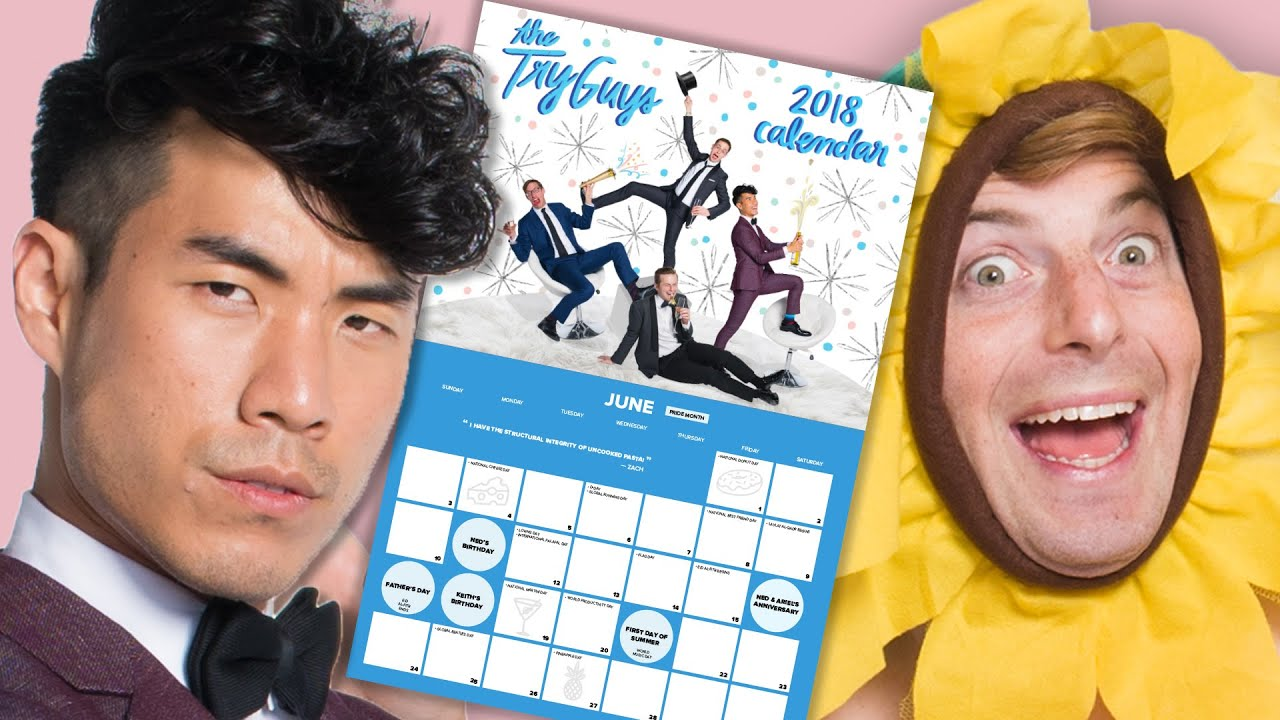 The Try Guys Make The Ultimate Holiday Calendar