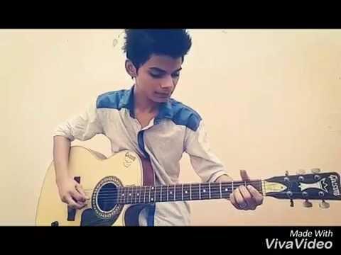 Aadat acoustic cover by Ravi Poddar