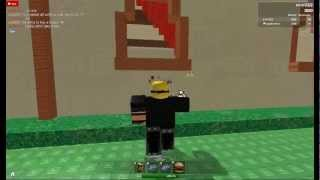 ROBLOX 2013: ME AND MY FRIEND PLAYNG DISASTER GAMES BY ME :))!!! (eric022)