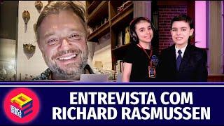 ENTREVISTA COM RICHARD RASMUSSEN - BRINCADEIRAS A DOIS - TALK SHOW SEGUNDA TEMPORADA
