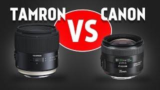 Lens Comparison: Tamron SP 35mm f/1.8 VC vs Canon EF 35mm f/2 IS