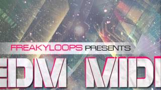 EDM MIDI Melodies Vol 4 - MIDI Files