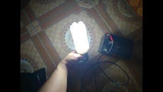 hướng dẫn chế bóng đèn siêu tiết kiệm điện với vỏ chai nhựa