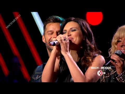 Ricky Martin en La Voz Mexico 4  Progama 3