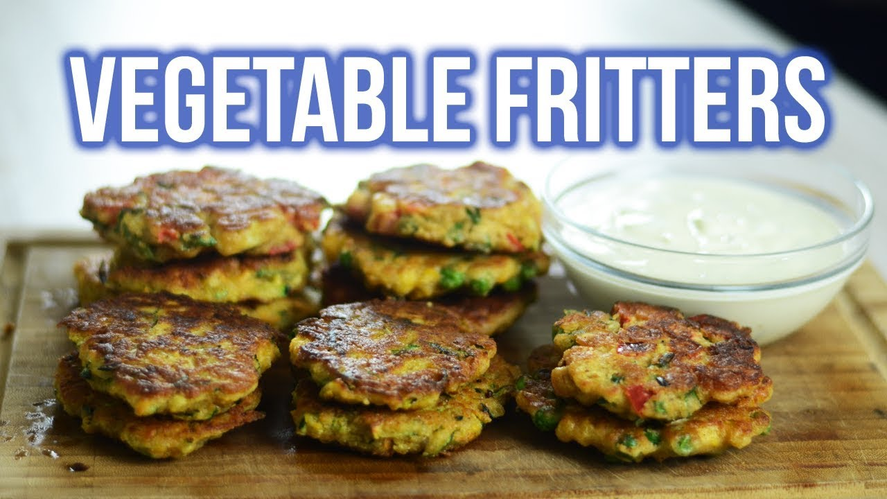 Healthy Gluten Free Vegetable Fritters