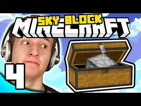 KUĆA JE NAMJEŠTENA ( Minecraft Sky Block #4 )