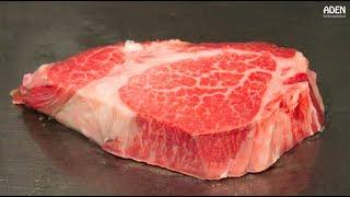 Rare Motobu Wagyu Beef - Teppanyaki in Okinawa, Japan