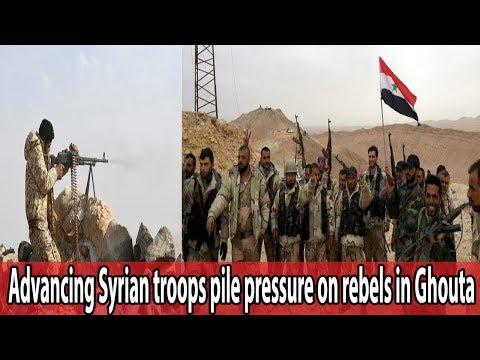Advancing Syrian troops pile pressure on rebels in Ghouta || World News Radio