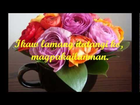Maricris Garcia - Mahal kita (with Lyrics)
