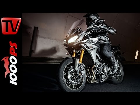Yamaha MT-09 Tracer Test 2015 | Action, Sound, Fazit