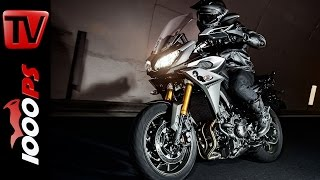 Yamaha MT-09 Tracer 2015 Test | Action, Sound, Fazit