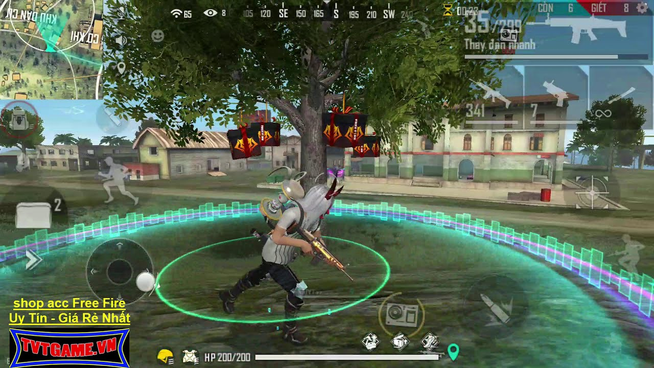 Thử Thách Cầm 2 Khẩu Scar Đi Solo Rank Squad và cái kết đắng lòng | TVT Free Fire