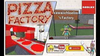 Roblox Pizza Factory Tycoon - Bau meiner Pizza-Fabrik, Pizza machen und Kunden bedienen