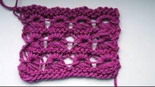 Перуанское вязание спицами - брумстик. Broomstick Lace