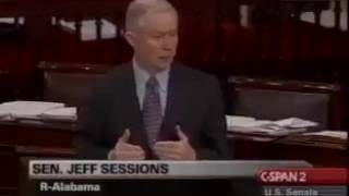Jeff Sessions on Dominicans. Free HD Video