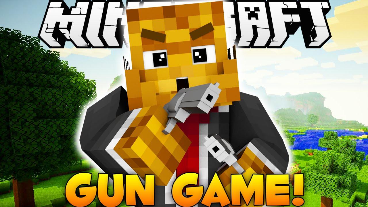 Brand New Minecraft Gun Game Arsenal Minigame