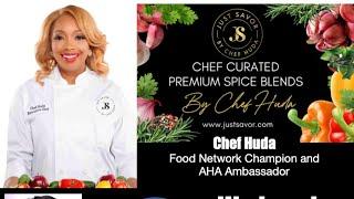 Live with Chef Huda
