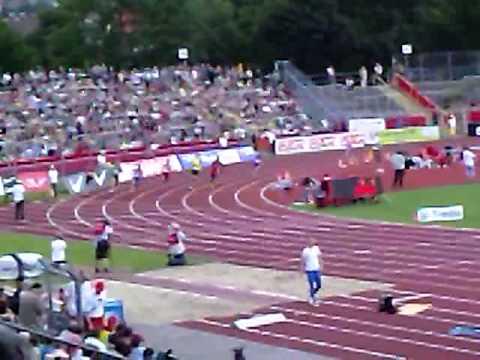 Robert Hering 200m Ulm - 20,41s