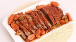 Braised Brisket Recipe - Laura Vitale - Laura in the Kitchen Episode 550