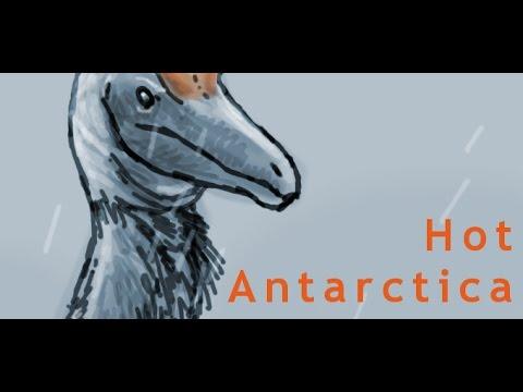 Paleo Speedsketching Test 39# Cryolophosaurus