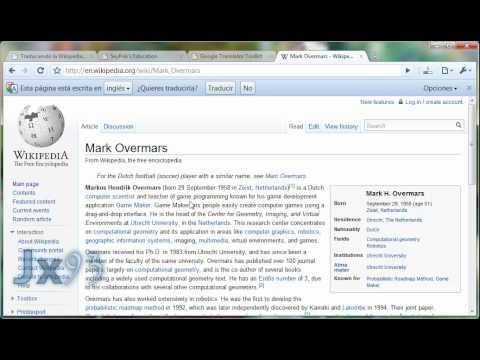 Aprende A Traducir la Wikipedia de forma rápida y sencilla